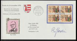 Switzerland Cover 1978 Second Tour De Scrutin Pour L'election Du Gouvernement Posted Delemont 1978 (LG20) - Briefe U. Dokumente