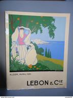 ALGERIE : Livre Sur La Société LEBON Et Cie - 1931 ...........  Caisse1-210124-L3 - Unclassified