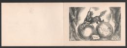 1955 COMPAGNIE MESSAGERIES MARTIMES CARTE DE VOEUX / LICORNE  C2562 - Boten