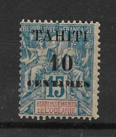 TAHITI - N°33 Neuf** - SUP - Unused Stamps