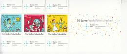 2019 Germany Valiant Tailor Fairy Tale Folk Story Semi-postal  Block MNH @ BELOW FACE VALUE - Nuovi