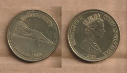 GIBRALTAR 5 Pounds - 2010  Nickel Brass • 11.7 G • ⌀ 32 Mm Schön# 1464, KM# 1475 - Gibraltar