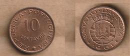 INDIA PORTUGUESA  10 Centavos 1961 Bronze • 2 G • ⌀ 18 Mm KM# 30, 13, Schön# 1 - Gibraltar
