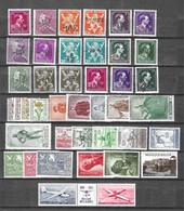 Belgique Belle Collection De Bonnes Valeurs Neufs ** MNH 1946/1953. TB. A Saisir! - Collections