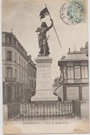 Cpa ( 60 Oise )  Compiegne , Statue De Jeanne-d'arc - Compiegne