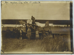 Mer : Capotage D'un Avion. 1er Juillet 1929. Aviation. Mer (Loir-et-Cher) ? - Aviación