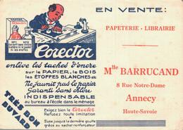 H0105 - Papeterie Librairie - Mlle BARRUCAND - ANNECY - HAUTE SAVOIE - Cartoleria
