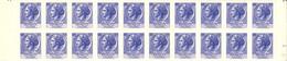 ITALIA 1968 -  Italia Turrita 55 Lire In Blocco Di 20 Nuovi   (973) - 1961-70: Mint/hinged
