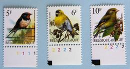 Hirondelle  Tarin Verdier N° De PL. - 1985-.. Birds (Buzin)