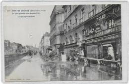 Nantes - Le Quai Penthièvre Inondé En 1910 - Nantes