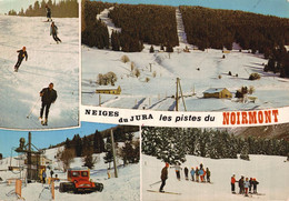 39 NEIGES DU JURA   CPM   Les Pistes Du Noirmont   Multi-vues - Ohne Zuordnung