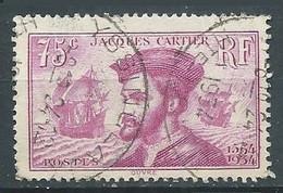 France YT N°296 Jacques Cartier Oblitéré ° - Used Stamps