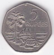 Seychelles 5 Rupees 1972 . Elizabeth II . KM# 19 - Seychelles