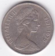 Fidji 25 Cents 1975 Elizabeth II, Cupronickel, KM# 31 - Fiji