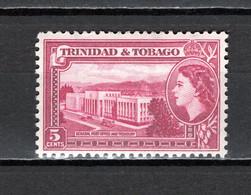 TRINITE ET TOBAGO   N° 163   NEUF AVEC CHARNIERE   COTE  0.50€    HOTEL DES POSTES - Trindad & Tobago (...-1961)