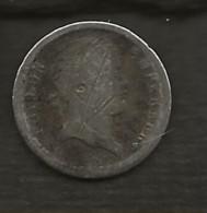 FRANCE / Monnaie Pièce Napoléon 1er  Demi-franc 1812 A Empire Français Argent - G. 50 Centesimi