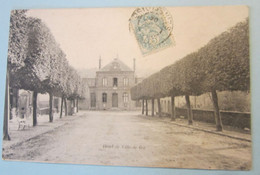 CPA FRANCE, Département 91. GIF : 3 Cartes (hôtel De Ville , L'Yvette Au Moulin De L'abbaye, Le Château). - Unclassified