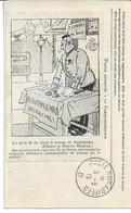 CARTE FM Correspondance Des Armées De La République Illustrateur Le Prix De La Chair à Canon En Angleterre Blanco Y Negr - Guerra Del 1914-18