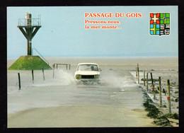 ILE De NOIRMOUTIER (85 Vendée) Passage Du GOIX Pressons Nous, La Mer Monte (Peugeot 504)(Artaud N° 48) - Noirmoutier