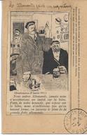 CARTE FM Correspondance Des Armées De La République IllustrateurLes Allemands Peints Par Eux Mêmes (Simplicissimus ) - 1. Weltkrieg 1914-1918
