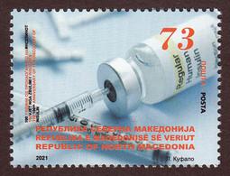 North Macedonia 2021 100 Years Anniversary Discovery Of Insulin Science Medicine MNH - Macedonia