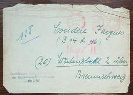 Allemagne - EMA - Frankfurt - 1945 - Poststempel - Freistempel