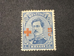 BELGIUM 1918.N°: 156* MH. Croix Rouge. - 1918 Red Cross