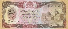 BANCONOTA AFGHANISTAN 1000 UNC (HC1687 - Afghanistan