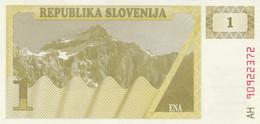 BANCONOTA SLOVENIA 1 UNC (HC1691 - Slovenia