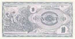 BANCONOTA MACEDONIA 10 UNC(HC1693 - Macedonia