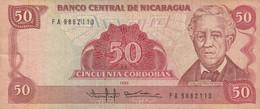 BANCONOTA NICARAGUA 50 VF (HC1698 - Nicaragua