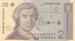 BANCONOTA CROAZIA 25 UNC(HC1708 - Croatia