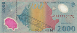 BANCONOTA ROMANIA 2000 VF (HC1720 - Romania