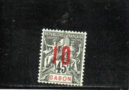 GABON 1912 * - Unused Stamps