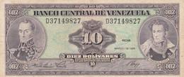 BANCONOTA VENEZUELA 10 EF (HC1762 - Venezuela