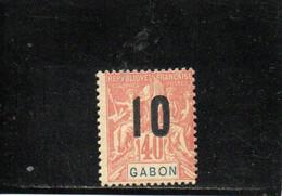 GABON 1912 ** - Unused Stamps