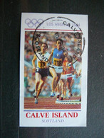 Olympic Games Los Angeles # Scotland Calve 1984 Used # - Summer 1984: Los Angeles