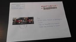 Portugal - Carta Moderna Circulada (Music) - Covers & Documents