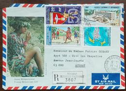 Nouvelle Calédonie - Lettre Recommandée - Koumac - 1980 - Briefe U. Dokumente