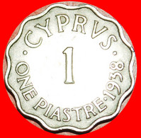 • GREAT BRITAIN: CYPRUS ★ 1 PIASTRE 1938! LOW START ★ NO RESERVE! - Cyprus