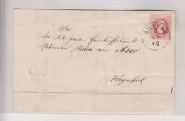 AUSTRIA ROMANIA BRASSO BRASOV 1869 Nice Cover To KLAGENFURT - Cartas