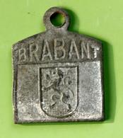 """Jeton De Taxe Belge Sur Les Chiens """"Année 1924 - Brabant"""" Médaille De Chien - Dog License Tax Tag - Monedas / De Necesidad"""