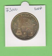 75000PARISParis - Les 4 Monuments Monnaie De Paris 2007 - 2007