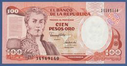 COLOMBIA - P.426A – 100 Pesos Oro 07/08/1991  - UNC - Colombia