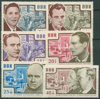 DDR 1964 Gedenkstätten Antifaschisten KZ-Opfer 1014/19 Postfrisch - Ongebruikt