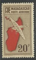 MADAGASCAR 1935 YT PA 13** - SANS CHARNIERE NI TRACE - Aéreo