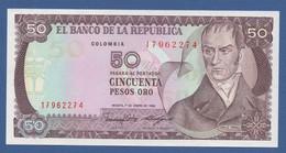 COLOMBIA - P.425b – 50 Pesos Oro 01/01/1986  - UNC - Colombia