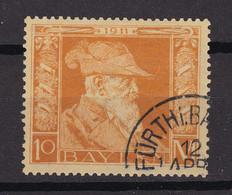 Bayern - 1911 - Michel Nr. 90 Type I - Gestempelt - 85 Euro - Bavaria