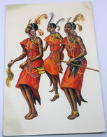 Kikuyu Dancers :: KENYA :: East Africa - New Year & XMAS Greetings Postcard - Kenya