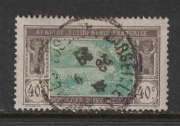 Cote D'Ivoire - Ivory Coast - Yvert 51 Oblitération  MARSEILLE  PAQUEBOT - Scott#59 - Usados